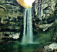 Taughannock falls, state park by BrittneyMarie83