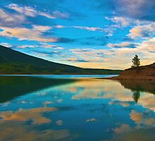 Barrier Lake, Alberta, Canada by Laurast