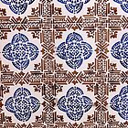 Portugal Tile Number One by Michael Kienhuis