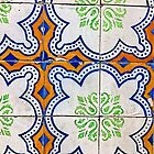 Portugal Tile Number Four by Michael Kienhuis
