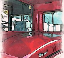 London Bus - 3 by Paul Stevens