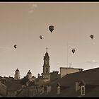 baloons on Vilnius by dreamax1985