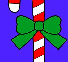 Christmas Candy cane by chany