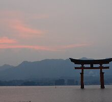 Gate to a flaming sky by LadyTakara