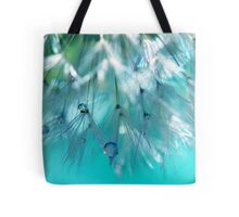 Turquoise Dandy Delight Tote Bag
