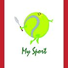 Tennis Design 1- My Sport by mysports