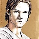 Jared Padalecki miniature by wu-wei
