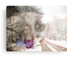 dreaming in winter Canvas Print