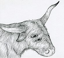 3-Eyed Steer by kbelvedere