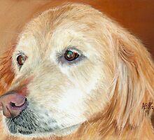 Golden Pastel by AngelaBishop