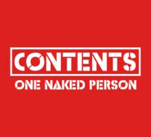 Contents. One Naked Person by artack
