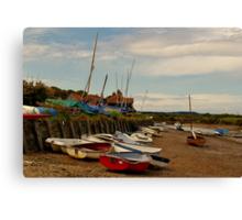 The Harbour (Burnham Overy Staithe) Canvas Print