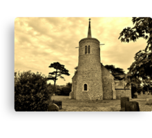 St Mary's Church, Titchwell, UK Canvas Print