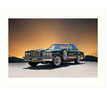 1979 Cadillac 'Opera Coupe' Art Print