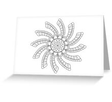 Dreamcatcher Mandala - Card - Color Your Own Greeting Card
