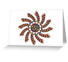 Dreamcatcher Mandala - Card - Full-Color Greeting Card