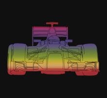 F1 Racing Car Multi Dot by ouroboros888