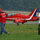 Defence Budget Cuts Scale Down The Red Arrows !! by Colin J Williams Photography