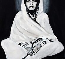 Anandamayi Ma by BlackLambInked