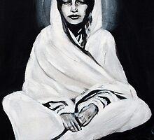 Anandamayi Ma by BlackLambInked