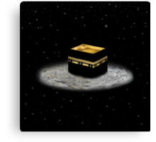 Kaaba Stars prints, cards, posters, iPad and iPhone case Canvas Print
