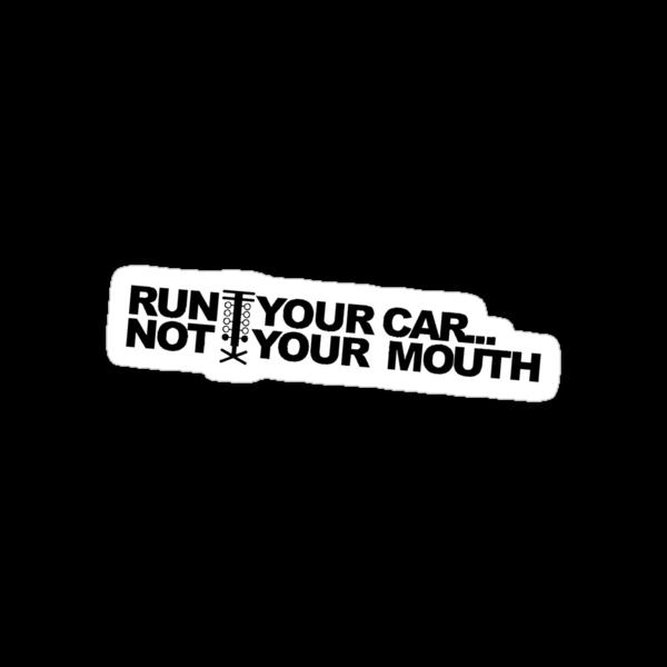 RUN YOUR CAR! by Matthew Simpson
