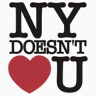 NY Doesn't Heart (Love) U by ottou812