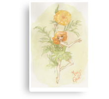 Flower Fairy - Merry Gold Canvas Print