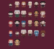 Game of Thrones - Alphabet of Characters  by innercoma