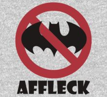 Ben Affleck Batman Protest by Kyle Willis