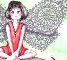 Ladybug Fairy Sticker