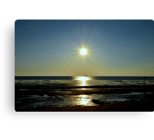 At The End Of Day Canvas Print