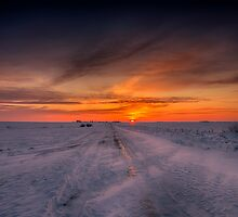 Winter Road 0517_13 by Ian McGregor