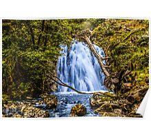 waterfall cadair idris Poster