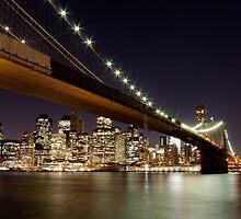 Manhattan skyline by anhgemus