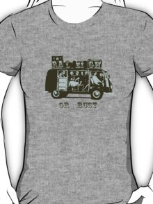 Raleigh Or Bust! T-Shirt