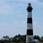 Bodie Lighthouse of the Outer Banks by Sandy Woolard