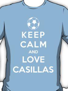 Keep Calm And Love Casillas T-Shirt