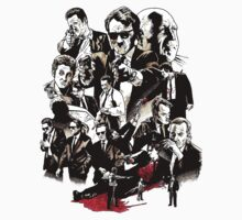 reservoir dogs - drawing by kazkami