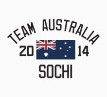 Team Australia - Sochi 2014 by monkeybrain