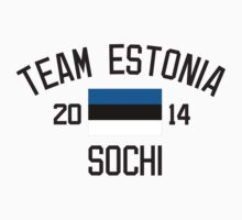 Team Estonia - Sochi 2014 by monkeybrain