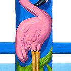 Pink Flamingo by COusley622