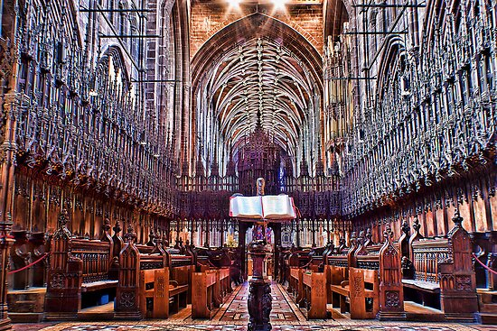Chester Cathedral Quire by Dave Godden