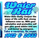 1972 2032 Chinese zodiac born in year of Water Rat  by Valxart