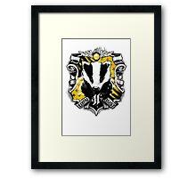 H Crest Framed Print