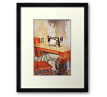 Sew History in the Making Framed Print