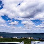 Clouds over Marblehead Neck by Rebecca Dru