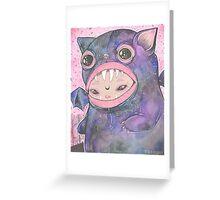 Boooh! Greeting Card