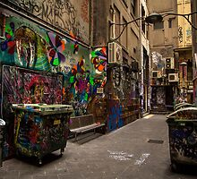Alleyway Grafitti by WendyJC