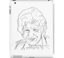 Jon Pertwee - 3rd Doctor iPad Case/Skin
